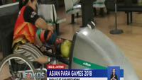 Tim para bowling Indonesia terus menggenjot latihan jelang Asian Para Games 2018.
