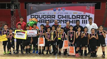 Klub Basket Romy Chandra Rebut Piala Bergilir BNN