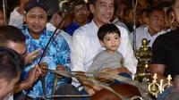 Jokori bersama keluarga libur Lebaran di Yogyakarta. (dok. Instagram @jokowi/https://www.instagram.com/p/ByZHfS4huCH/)