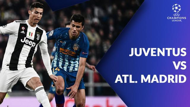Berita video statistik Juventus vs Atletico Madrid pada 16 besar Liga Champions 2018-2019 leg kedua, Rabu (13/3/2019) di Allianz Stadium, Turin.