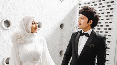 7 Potret Aurel Hermansyah saat Tampil dengan Hijab Usai Menikah, Banjir Pujian
