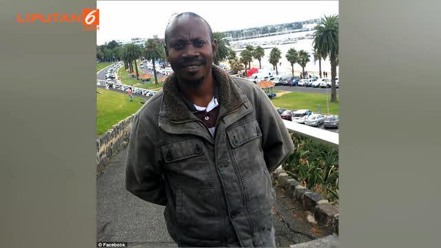 Seorang pria asal Australia terkejut saat melihat istrinya hadir saat jenazahnya akan dikuburkan.