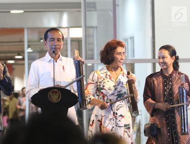 Presiden Jokowi Resmikan PIM Muara Baru