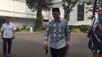 Gubernur Jawa Barat Ridwan Kamil menemui Presiden Jokowi di Istana Kepresidenan Jakarta. (Merdeka.com/Intan Umbari Prihatin)