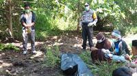 Warga Desa Tommo, Kabupaten Mamuju digegerkan penemuan kerangka manusia