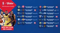 Live streaming pertandingan NBA 2021 pekan ke-6 dapat disaksian melalui platform Vidio. (Dok. Vidio)