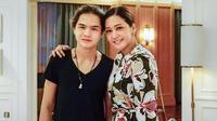 Maia Estianty dan Dul Jaelani [foto: instagram/maiaestiantyreal]