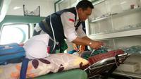 Seorang haji asal Solo bernama Kasto meninggal dunia di Jeddah. (www.haji.kemenag.go.id)