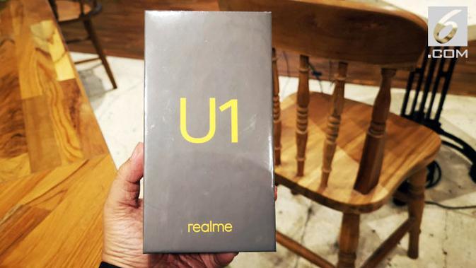 Realme U1. Liputan6.com/ Yuslianson