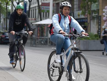 Pandemi Covid-19, Pengendara Sepeda di Austria Meningkat