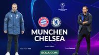 Liga Champions - Bayern Munchen Vs Chelsea - Head to Head (Bola.com/Adreanus Titus)