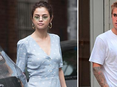 Selena Gomez sudah enggan selalu dihubung-hubungkan dengan Justin Bieber. Terlebih ketika Justin telah bertunangan dengan Hailey Baldwin. (Splash News/SheFinds.com)