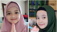 5 Anak Artis yang Menggemaskan Menggunakan Hijab. (Sumber; Instagram @queenarsy / @kana.sybilla)