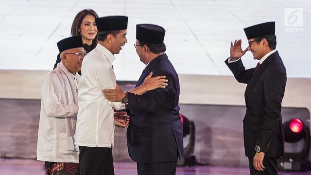 Ekspresi Jokowi sampai Warna Rambut Moderator Debat Capres Jadi