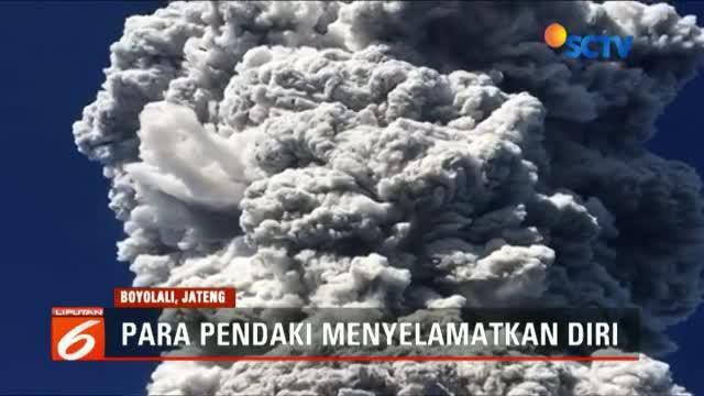 Mereka tak menduga Gunung Merapi erupsi karena tidak ada tanda-tanda aktivitas gunung ini sebelumnya.