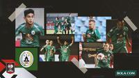 Kolase - PS Sleman di Piala Menpora (Bola.com/Adreanus Titus)