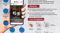 Masyarakat Jawa Barat bisa ajukan KUR secara online melalui laman tpakdjabar.id atau ponsel.
