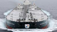 Kapal tanker raksasa atau Very Large Crude Carrier (VLCC) berkapasitas 2 juta barel milik PT Pertamina (Persero) mulai melaut (dok: Pertamina)