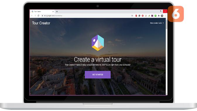 Rancang Media Pembelajaran Virtual Reality dengan Google Tour Creator. Liputan6.com/Mochamad Wahyu Hidayat