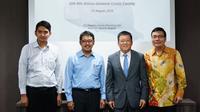 Bank of China Cabang Jakarta melakukan penandatanganan pemberian fasilitas kredit bilateral senilai Rp 600 milyar dengan PT Waskita Karya (Persero) Tbk. (Wilfridus Setu Embu/Merdeka.com)