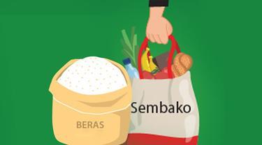 Banner Infografis Rencana Sembako Dikenakan Tarif PPN. (Liputan6.com/Trieyasni)