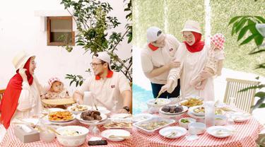 Momen Dian Pelangi dan Keluarga Piknik Di Rumah, Rayakan Ultah Suami. (Sumber: Instagram/dianpelangi)