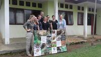 Warga Inggris misi penyelamatan Harimau Sumatera (Liputan6.com/Yuliardi Hardjo Putra)