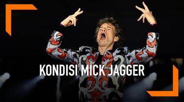 Vokalis Rolling Stones, Mick Jagger selesai menjalani operasi katup jantung di rumah sakit. Ia mengunggah ucapan terima kasihnya melalui akun Twitter.