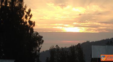 Citizen6, Probolinggo: Sun Rise Agrowisata Jamur Desa Ngadirejo Probolinggo. (Pengirim: Ambar Debeauvoir).