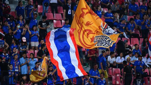Suporter Timnas Thailand