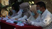 Protokol kesehatan ketat diterapkan di TPS 022