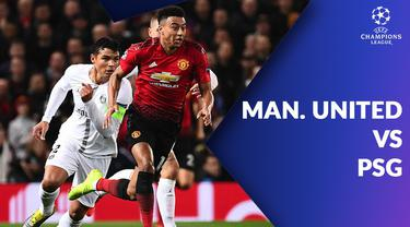 Berita video statistik Manchester United vs PSG pada babak 16 Besar Liga Champions 2018-2019 leg 1, Rabu (13/2/2019) di Old Trafford, Manchester.