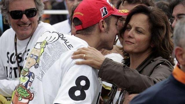 Valentino Rossi dan Stefania Palma