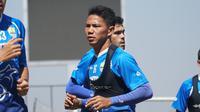 Bek tengah Persib Bandung Achmad Jufriyanto. (Liputan6.com/Huyogo Simbolon)