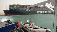 Suez Canal Authority via AP