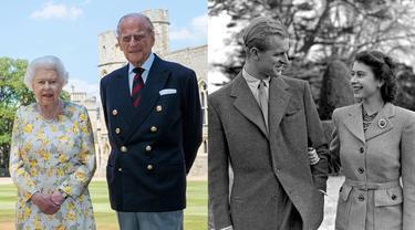 6 Potret Kenangan Pangeran Philip dan Ratu Elizabeth II Saat Muda, Gagah dan Berwibawa