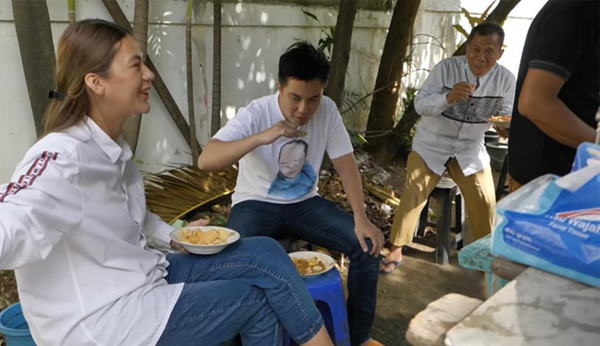 Paula Verhoeven ngidam ketupat sayur (Youtube/Baim Paula)