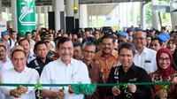 Grab Hadir di Bandara Kualanamu. Liputan6.com/Reza Efendi