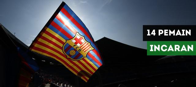 Barcelona mengincar beberapa pemain untuk musim depan, siapa saja?