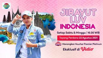 Sinopsis Jirayut Luv Indonesia Episode: Yogyakarta Kota Istimewa yang Tayang di Vidio