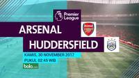 Premier League_Arsenal Vs Huddersfield Town (Bola.com/Adreanus Titus)
