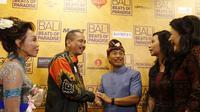 Menteri Pariwisata Arief Yahya di CGV Grand Indonesia saat pemutaran Film Bali: Beats Paradise.