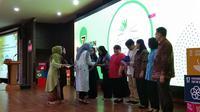 Liputan6.com menerima apresiasi dari CISDI sebagai mitra media program Pencerah Nusantara (Liputan6.com/Giovani Dio Prasasti)