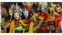 Tari Topeng Malangan (Sumber: malangkota.go.id)