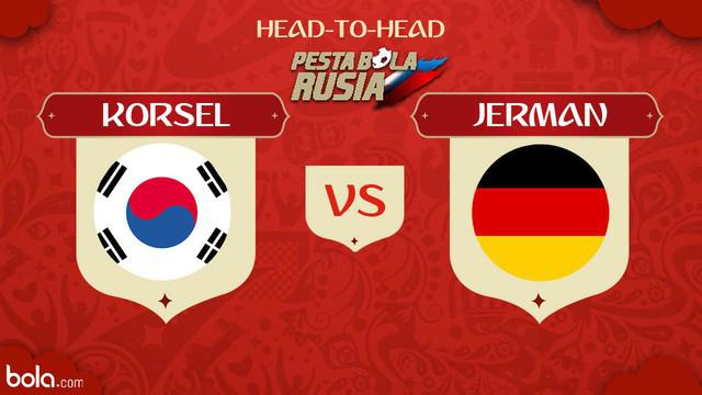Berita video head-to-head Piala Dunia Rusia 2018: Korea Selatan vs Jerman.