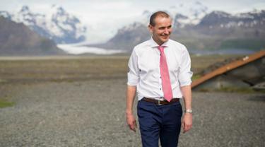 Gudni Johannesson, presiden baru Islandia
