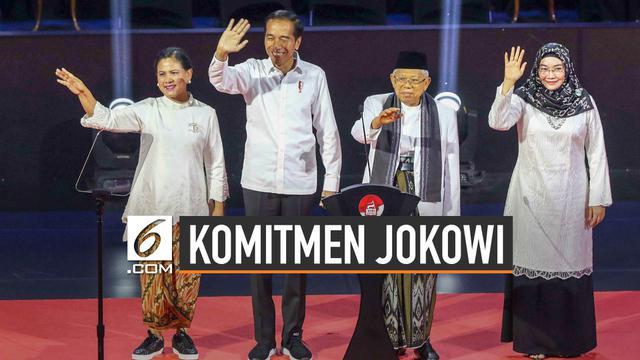 Ini 5 Komitmen Jokowi dalam Pidato Visi Indonesia