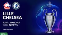 Liga Champions - Lille Vs Chelsea (Bola.com/Adreanus Titus)