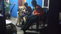 Nelayan korban kecelakaan laut di Kolaka, sempat hilang di laut karena cuaca buruk.(Liputan6.com/Ahmad Akbar Fua)