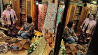 Festival Kreatif ini sebagai kontribusi untuk mengembangkan ekonomi kreatif yang ada di Indonesia agar hasil karya bangsa sendiri lebih maju, Jakarta, Senin  (14/7/14). (Liputan6.com/Faizal Fanani)